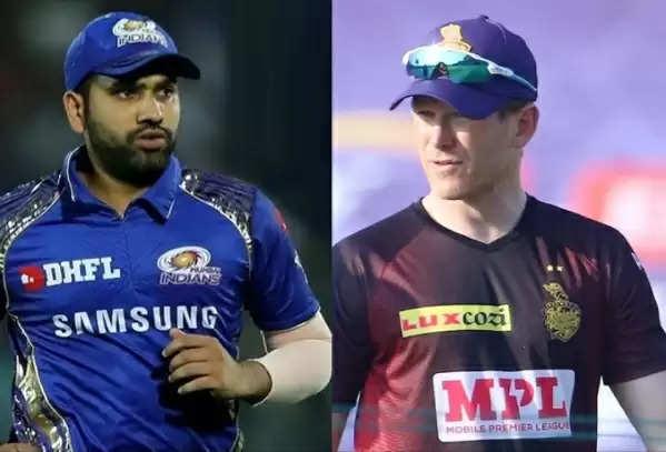 Come on come on Rohit Sharma-Ian Morgan, today's IPL action ..