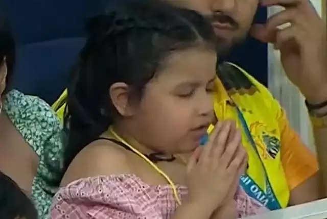 'Chennai team will win' Tony's daughter prays..Viral record ..