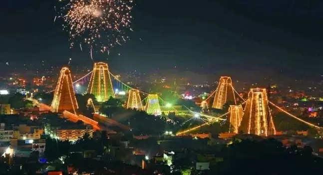 Thiruvannamalai Temple Light Festival Bandakkal planting event tomorrow