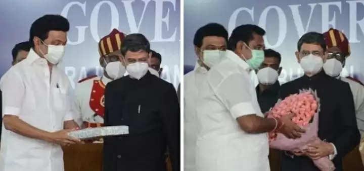 RN Ravi takes over as Governor of Tamil Nadu Chief Minister Stalin, Edappadi Palanisamy Congratulations