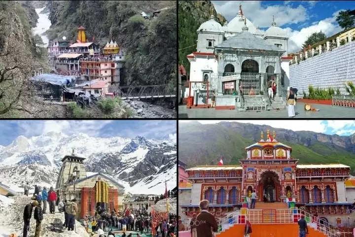 Badrinath, Kedarnath, Gangotri, Yamunotri Sardam pilgrimage today ..