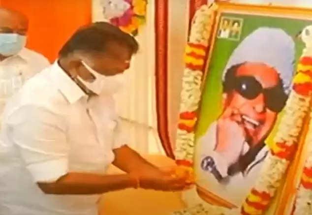 Increase in murder and robbery in Tamil Nadu O. Panneerselvam charge